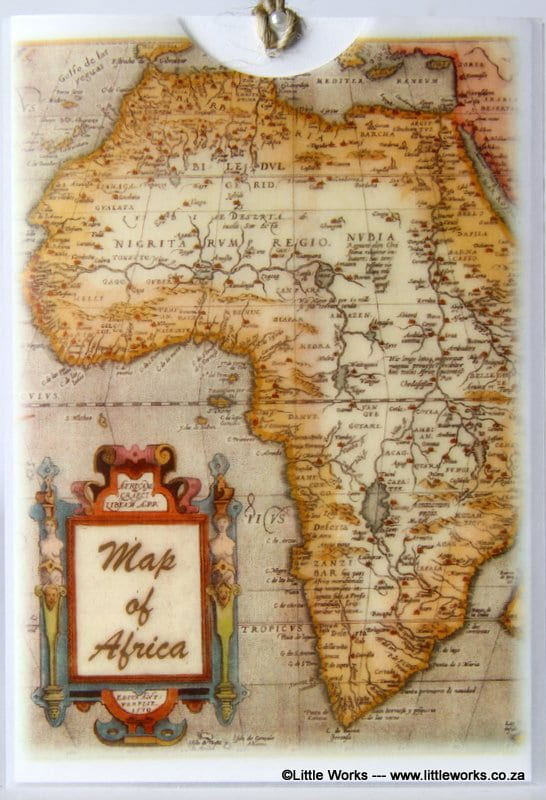 TMA - African Map