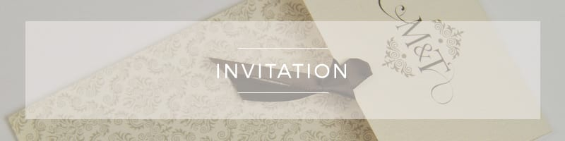 Wedding Invitations ~ Stationery