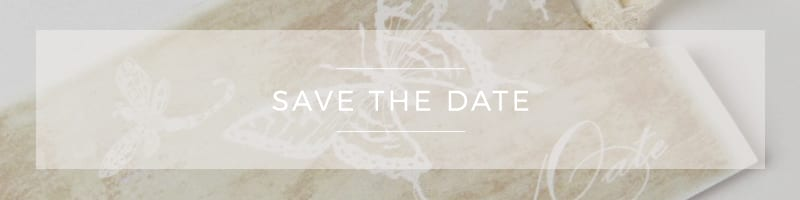 Wedding Stationery ~ Save the Date