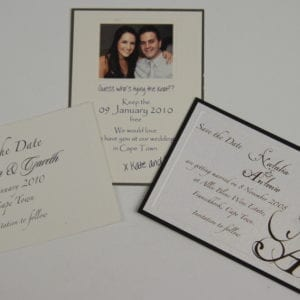 WSD1 - Rectangular Save the Date