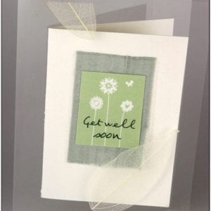 AGW - Get Well Greeting Card