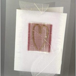 AH - Heart Greeting Card