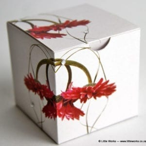 BOXZ4 - Gerbera Zirconia Gift Box (Pack of 4 boxes)