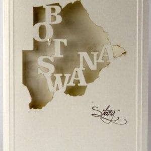 LCBSM - Botswana Map - Munken
