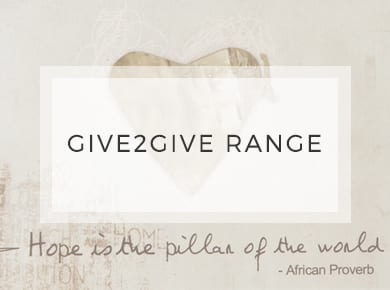 Give2Give Range ~ Greeting Cards ~ Designer Stationery