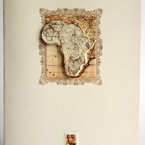 OV5 - Vintage Map of Africa
