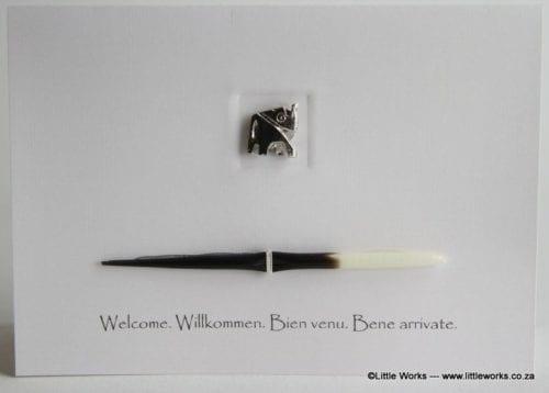 WEL1 - Welcome, Willkommen, Bien Venu, Bene Arrivate