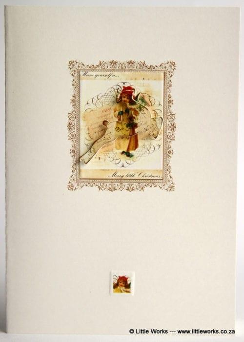 XOV1 - Vintage Christmas Reindeer