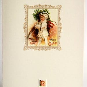 XOV2 - Vintage Christmas Girl