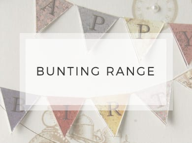 Bunting Range ~ Greeting Cards ~ Designer Stationery
