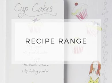 Recipe Range ~ Greeting Cards ~ Designer Stationery