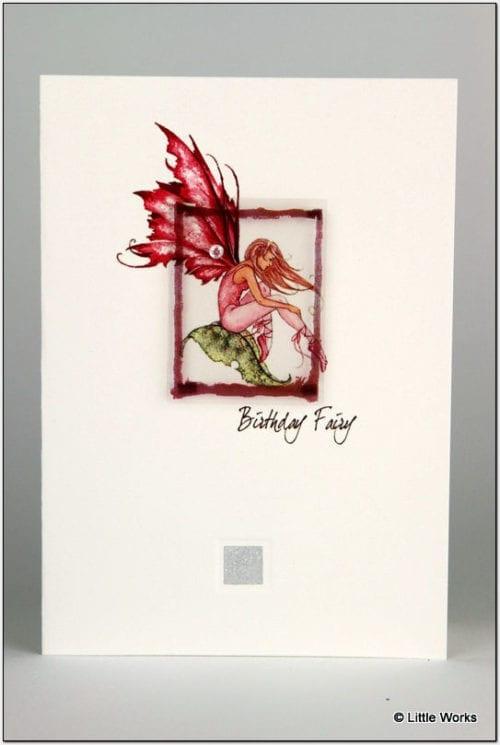 ZFBF - Fairy Card - Birthday Fairy