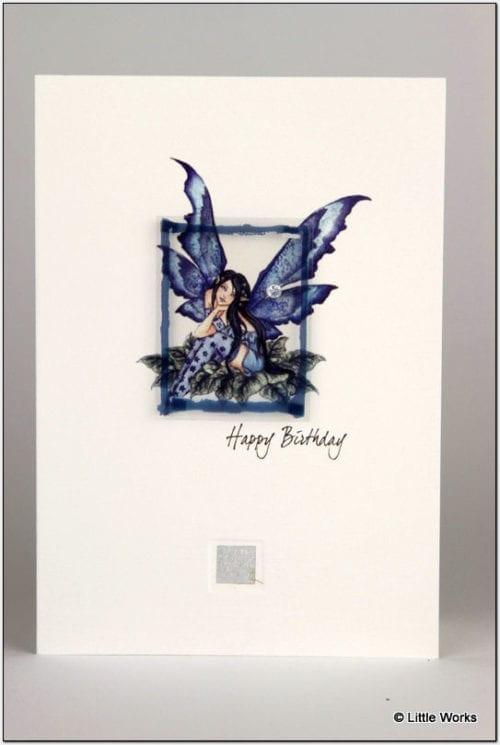 ZFHB - Fairy Card - Happy Birthday