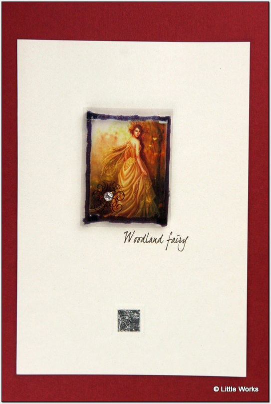 ZFWW - Fairy Card - Woodland Fairy