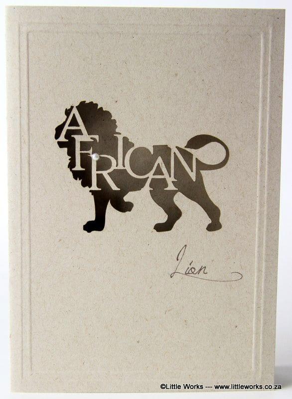 LCALD - African Lion - Desert Storm