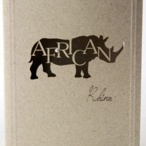 LCARD - African Rhino - Desert Storm