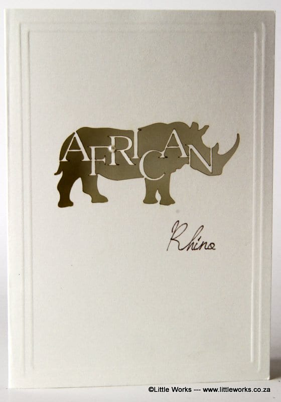LCARM - African Rhino - Munken