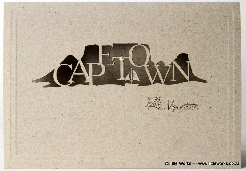 LCCTMD - Cape Town - Table Mountain - Desert Storm