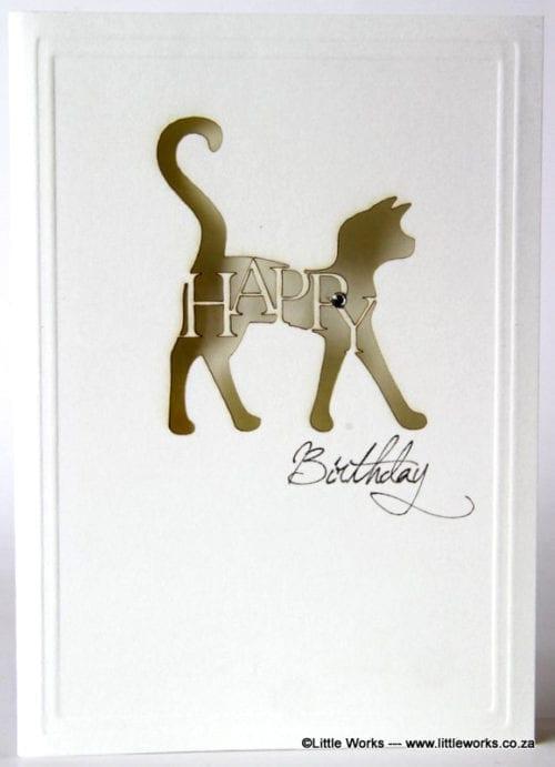 LCHBC - Happy Birthday Cat - Munken