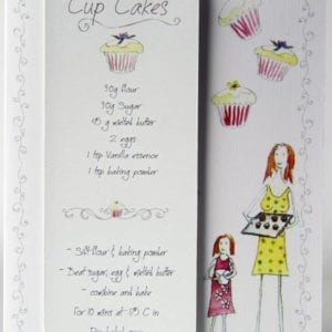 RCB1 - Bookmark - Cup Cakes