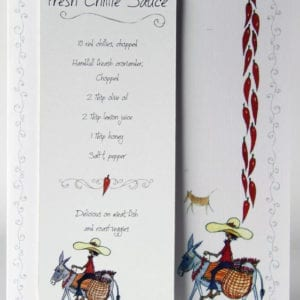 RCB3 - Bookmark - Fresh Chillie Sauce