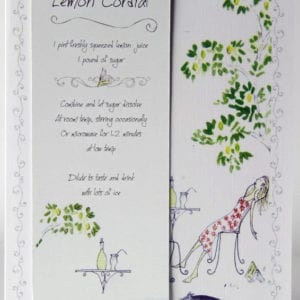 RCB4 - Bookmark - Lemon Cordial