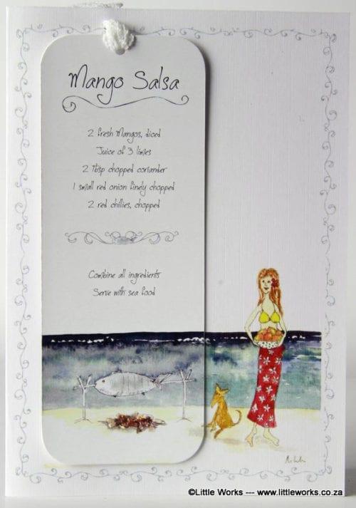 RCB5 - Bookmark - Mango Salsa