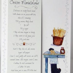 RCB8 - Bookmark - Onion Marmalade