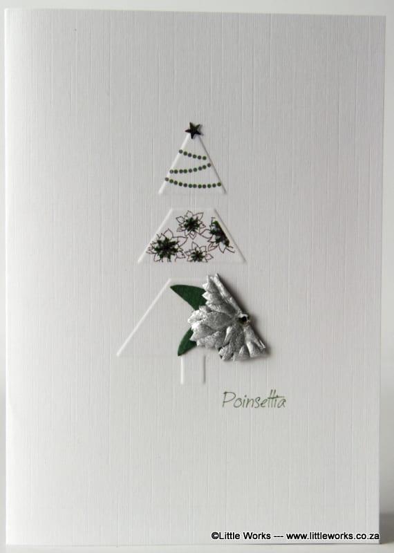 XPSS - Christmas Tree - Silver Poinsettia