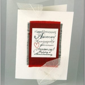 AA - Anniversary Greeting Card