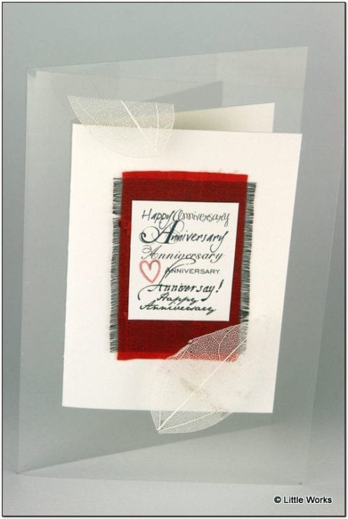 AA - Anniversary Greeting Card