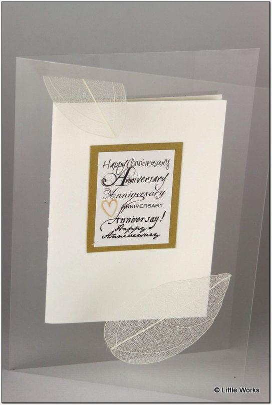 AAG - Golden Anniversary Greeting Card