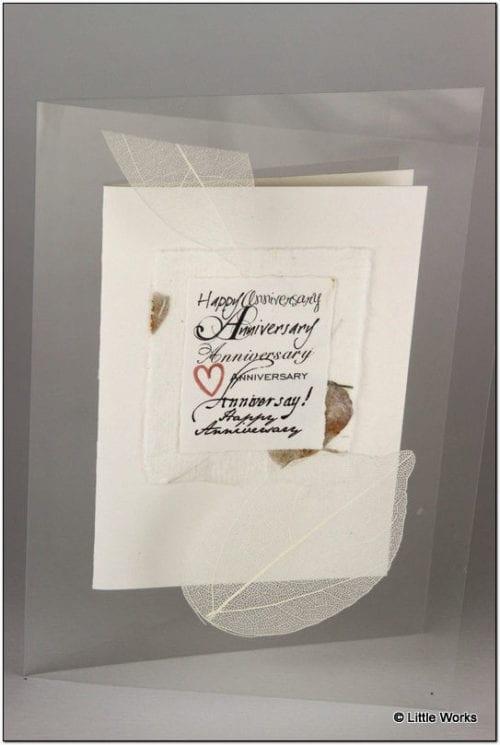 AAP - Paper Anniversary Greeting Card