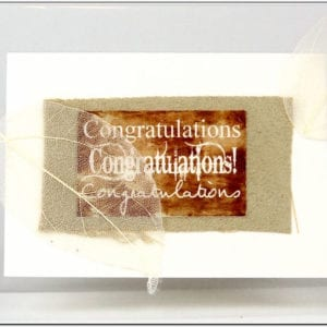ACO - Congratulations Greeting Card