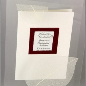AG - Graduation Greeting Card