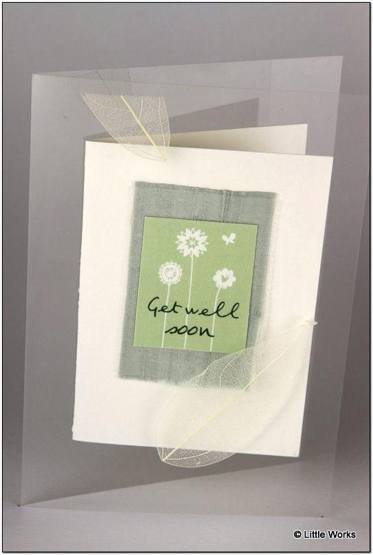 AGW - Get Well Greeting Card