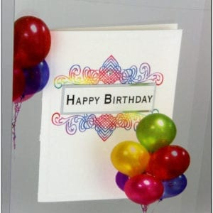 AMB - Birthday Greeting Card