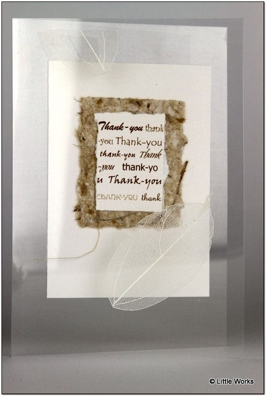 AT - Thank You Greeting Card