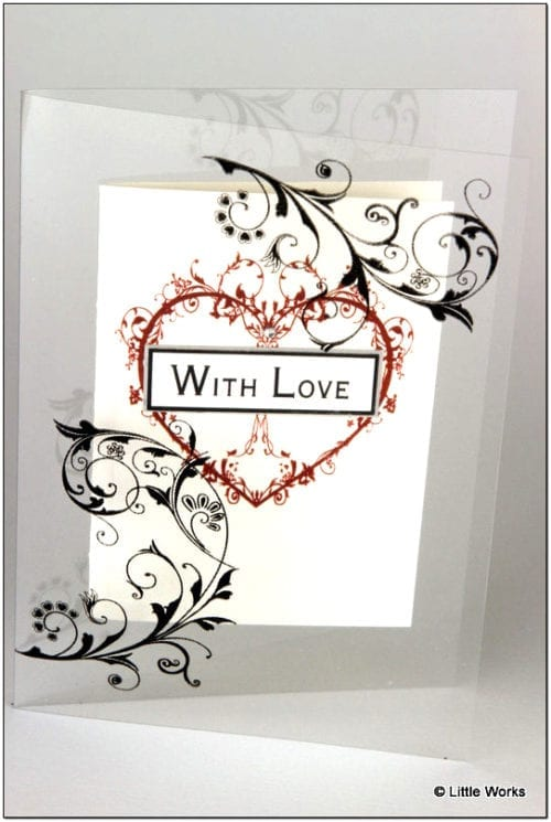 AWL - With Love Greeting Card