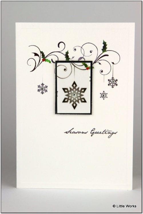 DX3 - Christmas Snowflake