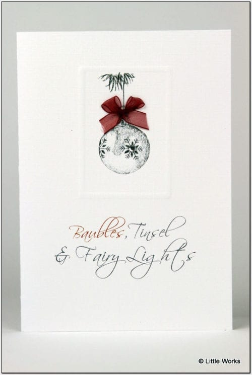 XB - Christmas Bauble