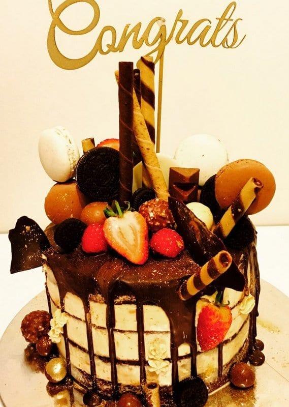 CT15 - Congrats Cake Topper