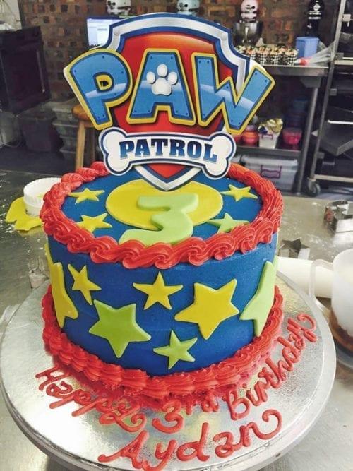 CT21 - Paw Patrol Cake Topper