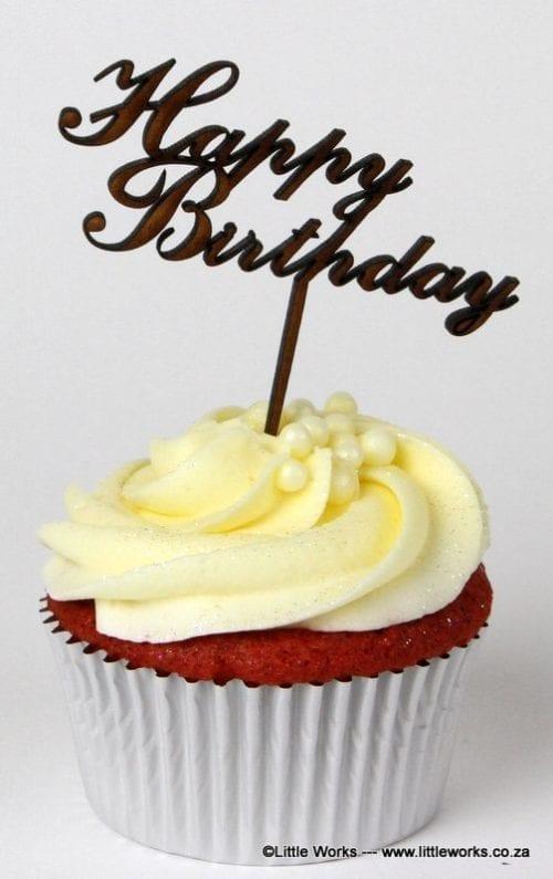 CTH1 - Happy Birthday Cupcake Holder