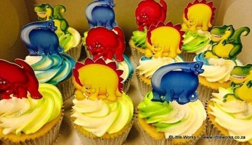 CTH16 - Dinosaur Cupcake Toppers