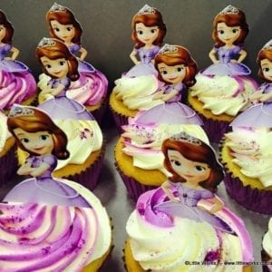 CTH23 - Princess Sophia Cupcake Toppers