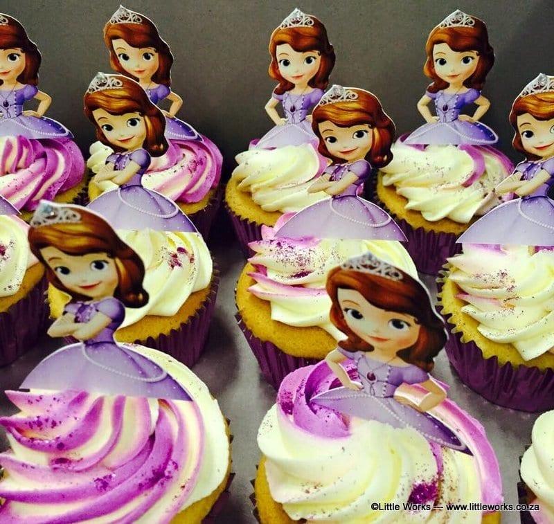CTH23 - Princess Sophia Cupcake Toppers
