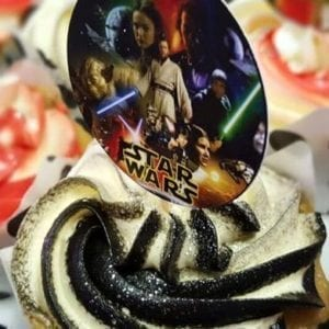 CTH24 - Star Wars Cupcake Toppers