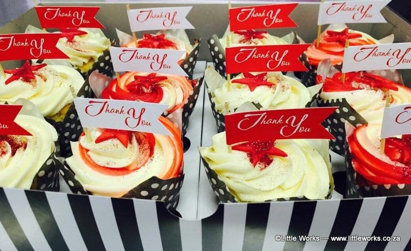 CTH25 - Thank You Cupcake Toppers