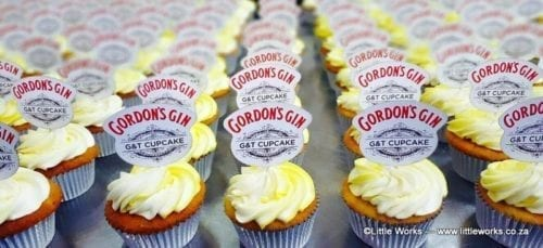 CTH27 - Gordons Gin Cupcake Toppers